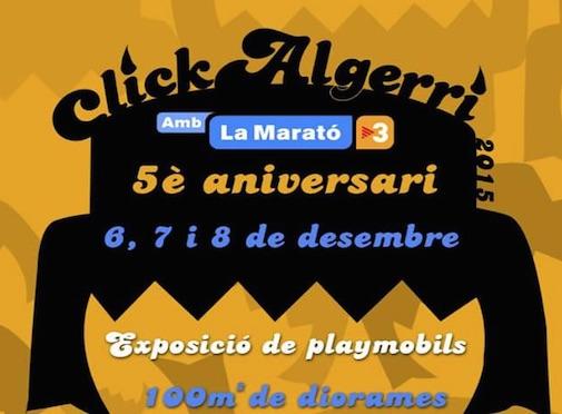 Expo Playmobil Click Algerri 2015