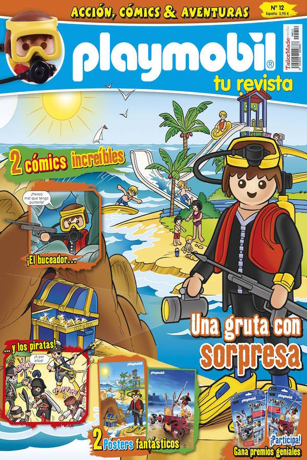 Revista Playmobil nº 12
