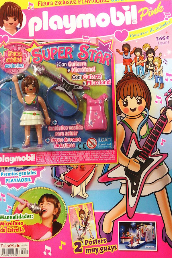 Revista Playmobil Pink nº 2