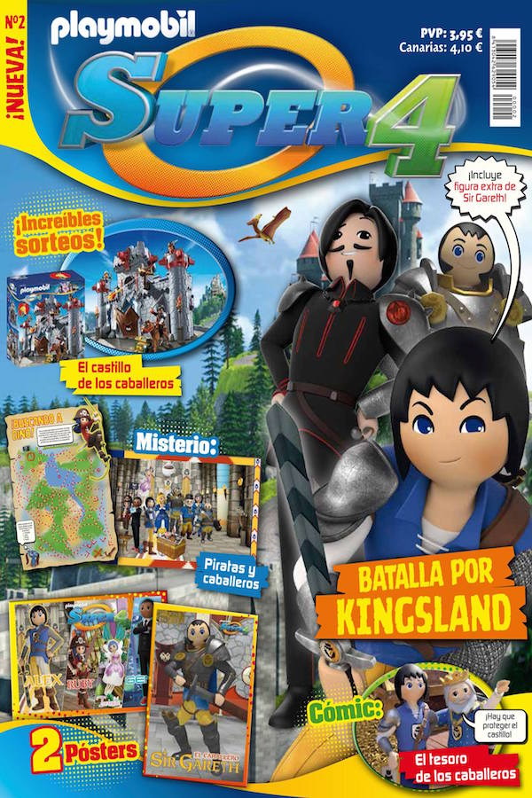Revista Playmobil Super4 nº 2