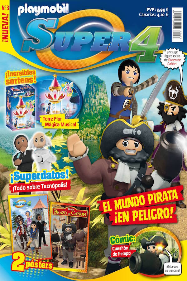 Revista Playmobil Super4 nº 3
