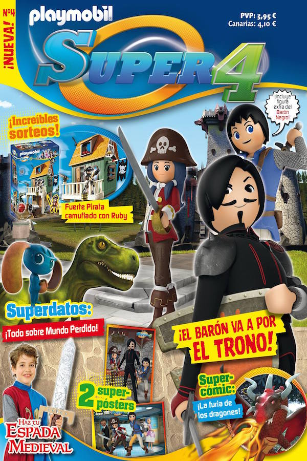 Revista Playmobil Super4 nº 4