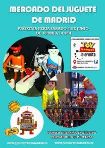 1º Mercadillo Junio Madrid