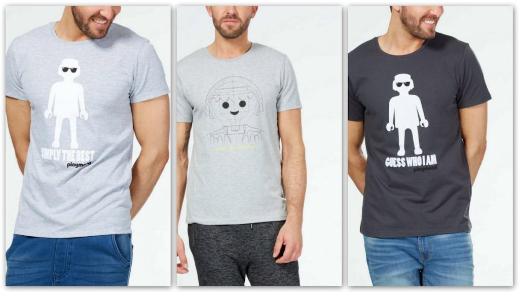 Camisetas Kiabi Playmobil 0