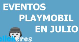 Eventos Playmobil en Julio