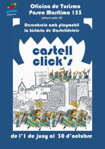 Historia de Castelldefels con Playmobil